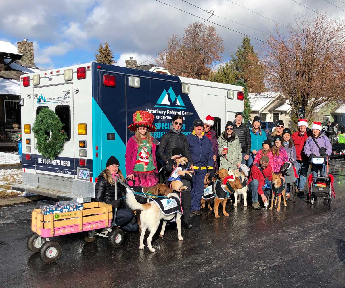 Bend holiday parade