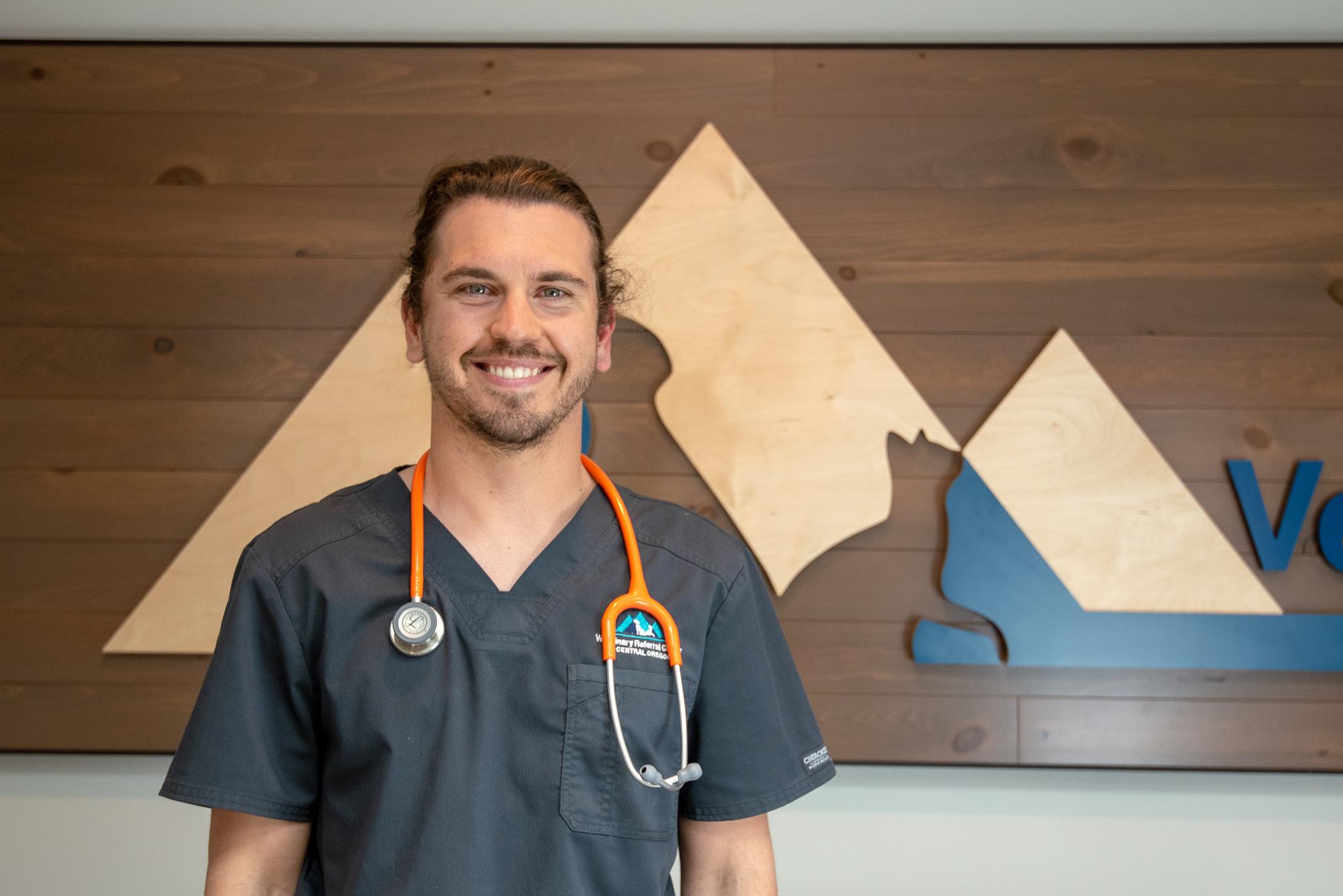 Emergency veterinarian Sean Panella